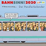 Bahnsinn! Der Pendlerkalender 2020: Postkartenkalender - Miguel Fernandez