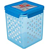 Cello Max Fresh Super Click Plastic Multi Storage Container With Lid, 5 Litres, Blue