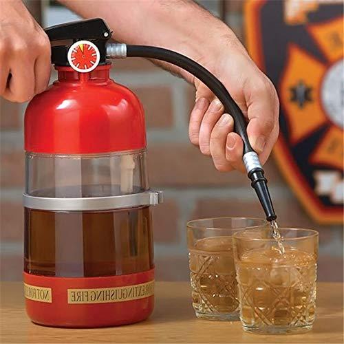 51nj5tp0nOL. SS500  - SODIAL 2L Fire Extinguisher Wine Drink Dispenser Party Beer Water Dispenser Beer Barrels Bar Beverage Liquor Drink…