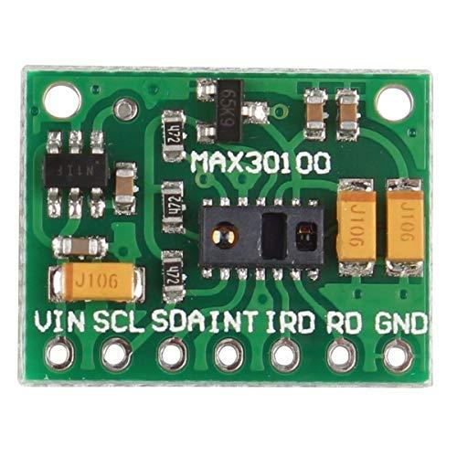 HAPPY-DZ praktische MAX30100 Pulsoximeter Herzfrequenz Sensor Modul für Tragbare Gesundheit Fitness Assistant Geräte medizinische Überwachungsgeräte