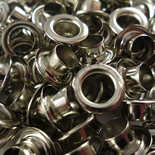Abbeytops Öse mit Unterlegscheibe, Leder, für Reparaturarbeiten, 3 mm, 4 mm, 5 mm, 6 mm, 8 mm, 10 mm, 12 mm, 14 mm -