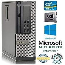 PC RICONDIZIONATO DELL 7010 SFF Intel Core i5 3470 3.20Ghz/RAM 8GB/SSD 240GB/DVD+RW/LICENZA WIN 10 PRO MAR (Ricondizionato) )