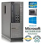 MARCA E MODELLO: DELL 3010 SFF -CPU: INTEL CORE i5 3470 3,2 GHz -RAM: 8 GB DDR3 -HARD DISK: SSD 240GB -UNITA' OTTICA: DVD-RW -AUDIO: SI -SCHEDA VIDEO: INTEL HD -LAN: SI 10/100/1000 -PERIFERICHE: x1 VGA x2 DISPLAY PORT x1 SERIALE RS 232 x4 USB 3.0 x6 ...