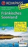 KOMPASS Wanderkarte Fränkisches Seenland: Wanderkarte mit Radwegen und Aktiv Guide. GPS-genau. 1:50000: Wandelkaart 1:50 000 (KOMPASS-Wanderkarten, Band 174) -