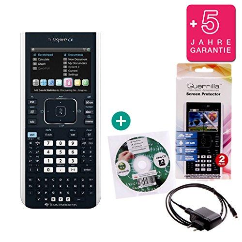 ti-nspire-cx-avanzadas-garantia-cable-de-carga-protector-de-pantalla-aprendizaje-de-cd