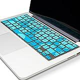 Best Kuzy Macbook Pro Cases 13 Inches - Kuzy Aqua.Circle.Key Silicone Keyboard Skin for MacBook Pro Review