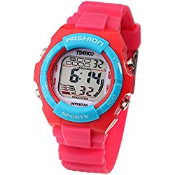 Time100 Kids' Digital Timing Multifunctional Waterproof Sport Watches #W40011L.02A