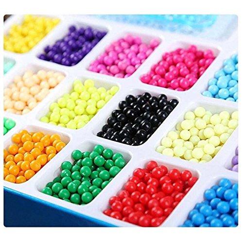 0d6707168b2f ... Abalorios Cuentas de agua 2400 perlas 15 colors Hama Beads para Niños  Niños Diy ...