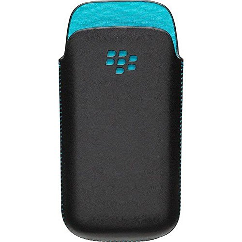 Blackberry ACC-32918-201 Leder Pocket Tasche für 8520 8530 9300 9330 (Holster Blackberry Sensor Proximity)