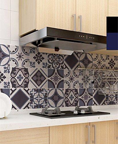 wangjian& Adesivo da parete Adesivo da cucina in stile europeo Carta ...