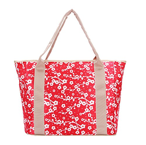 Anne, Borsa a spalla donna rosso Rose Red Red Flower