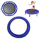 Groust Randafdekking voor trampoline, diameter 91 cm, 96 cm, 114 cm, 127 cm, 137 cm, 152 cm breed, 100 uv-bestendig, veerafde