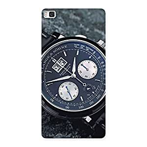 Stylish Wrist Watch Multicolor Back Case Cover for Huawei P8