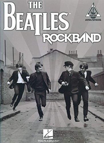 The Beatles Rock Band - Guitar Recorded Versions: Songbook für Gitarre