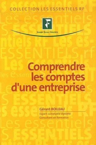 Comprendre les comptes d'une entreprise par Gérard Boileau