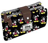Best Mickey Mouse de Mickey Portefeuilles - Disney Classic Mickey Moving Porte-Monnaie, 18 cm, Noir Review