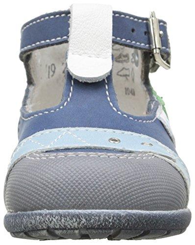 Little Mary Video, Chaussures Premiers pas bébé garçon Bleu (Icarus Marine)