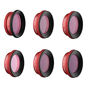 XSD MODEL NEW Filter For DJI MAVIC Air PRO Lens Filters UV CPL ND4 ND8 ND16 ND32 Filter kit MAVIC Air Drone Camera Accessory (UV+CPL+ND4+ND8+ND16+ND32)