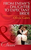Front cover for the book From Enemy's Daughter to Expectant Bride (The Billionaires of Black Castle) by Olivia Gates
