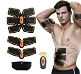Muskel Stimulator, Electronic Muskel Stimulation EMS Training Device Fitness Electrostimulator muskel training Man/Woman Smart Wearable Home Training for Men Women Weight Dieting