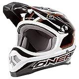 O'neal 3 Series Star Motocross Enduro MTB Helm schwarz/weiß/gelb 2016: Größe: L (59/60 cm)