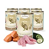 AniForte Katzenfutter Fish and Turkey 6 x 400g für Katzen, Nassfutter ohne künstliche Vitamine und chemische Zusätze