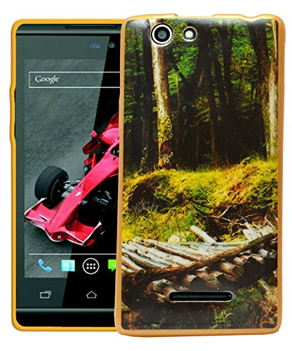 ECellStreet Printed Back Case Cover For Xolo A500s - Forest  available at amazon for Rs.189