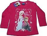 Disney Offizielle ~ Mädchen Quot;Frozen T-Shirt ~ Rot/Rosa ~ Elsa & Anna Sisters Forever Gr. 10 Jahre, Hot Pink