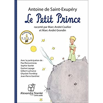 Le petit prince - Livre audio CD