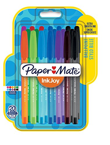 papermate-inkjoy-100-cap-capped-ball-pen-with-10-mm-medium-tip-assorted-colours-pack-of-20
