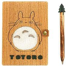 CoolChange Agenda de Totoro con portada y lápiz de madera