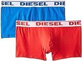 DIESEL Herren UMBX-SHAWN Boxershorts, Mehrfarbig (MULTICOLOR 6), Gr. XXL (Herstellergröße: XXL), 2er Pack