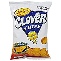 ‏‪Leslies Clover Chips Cheese - 85 gm‬‏