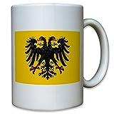 Heiliges Römisches Reich Deutschland Fahne Flagge Adler - Tasse Kaffee Becher #11382