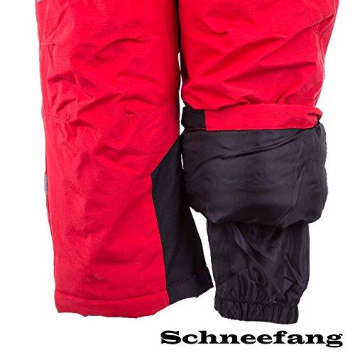 Kinder Skianzug LC1233 Rot 110 - 5