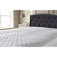Extra Deep T200 Egyptian Cotton Quilted Mattress Protector with Cotton Lining (Pillow Protectors)
