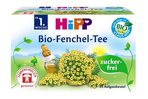 HiPP Bio-Fenchel-Tee, 5er Pack (5 x 30 g) -