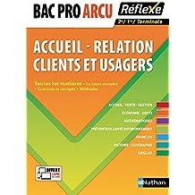 Toutes les matières - Bac Pro ARCU (Accueil - Relation Clients et Usagers)