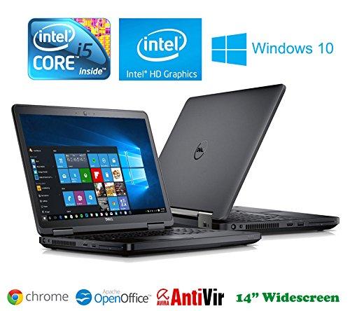 Dell Latitude E-Series Laptop - Core i5 2.5GHz - Win10 - 500Gb - 4Gb - HDMI - Webcam - Comes Boxed
