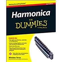 Harmonica For Dummies: Book + Online Video & Audio Instruction, 2nd Edition