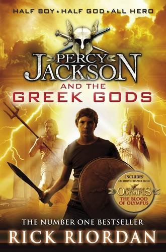 Percy Jackson and the Greek Gods Cover Image