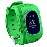 AMENON Kids Smart Watch Children Wrist Watch with Anti-lost GPS Finder Tracker Location SOS Call SIM Card Slot Remote Monitor Pedometer for Smartphones