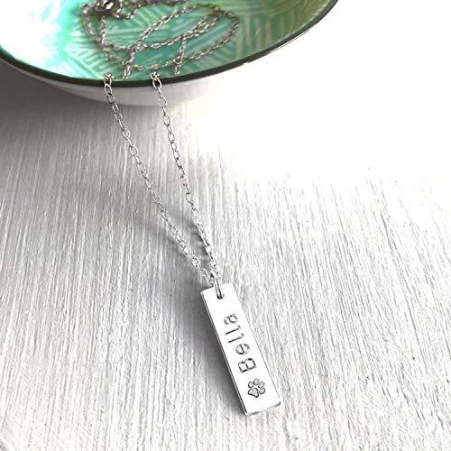 Personalisierte Sterlingsilber Haustier Pfotenabdruck Halskette, Paw Print, Haustier Gedächtnis, Hund Pfote Halskette, Katze Pfote Halskette, Pfote Halskette, Geschenk für Tierfreunde -