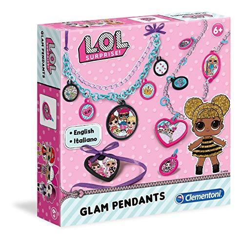 Clementoni-15269-Art and Craft-LOL-Glam Pendants, Multicolor