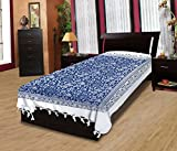 Adithya Warli Handlook Blue Single Bed S...