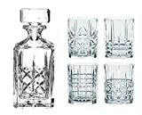 Spiegelau & Nachtmann, Whisky-Set, 5-teilig, Karaffe mit 4 Gläsern, Kristallglas, Highland, 0098196-0