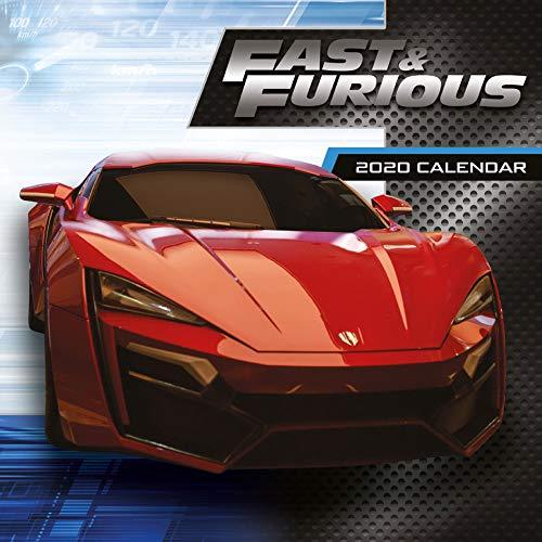 empireposter Fast & Furious - Offizieller Film Kalender 2020 - Größe 30x30 cm - Kalender Film