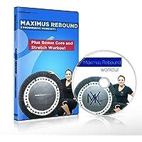 Preisvergleich für Die MaXimus Rebound - Mini-Trampolin- DVD-Workout-Kompilation mit 3 progressiven, motivierenden und spaßigen Fitness-Workouts wird Ihnen helfen, Gewicht zu verlieren und Sie in Form zu bringen, inclusive Core- & Stretch- Training als Bonus. Erhalten Sie 1