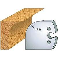 218: Juego de 2 grilletes tore a unos 50 mm de alto, para herramientas entr'plot eje 24 mm