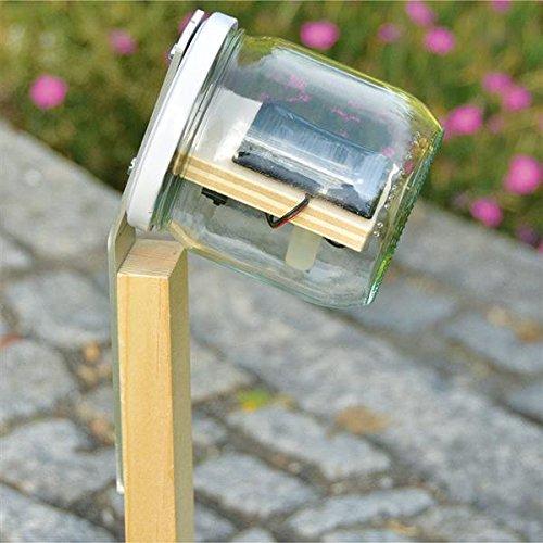 Preisvergleich Produktbild matches21 Solar LED Gartenleuchte Wegleuchte als Bausatz Bastelset Werkset f. Kinder ab 13 Jahren